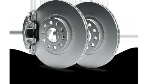 Τα Γνήσια Δισκόφρενα Volkswagen έχουν προσαρμοστεί εξατομικευμένα στις επιδόσεις του κινητήρα